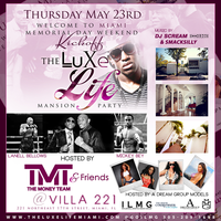 Thurs. May 23 House of Courvoisier Presents the Luxe...