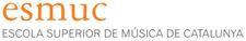 Escola Superior de Música de Catalunya ( ESMUC ) logo