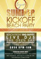 LYV Summer Kick-off Beach Party