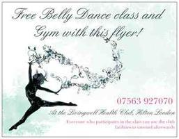 Belly Dance Course at HILTON club, FREE if you bring 2 friends!