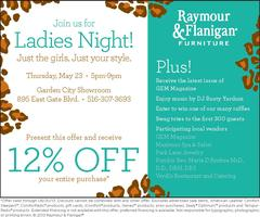 Raymour & Flanigan Ladies Night and GEM Magazine LI Networking...