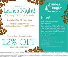 Raymour & Flanigan Ladies Night and GEM Magazine LI...