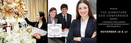 Wedding & Event Professionals, attend The Signature...