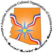 The Assyrian American Cultural Organization of Arizona logo