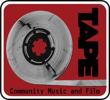 TAPE Community Music and Film logo