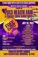 2013 PLL & Ebenezer Baptist Church Health Fair