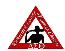 Delta Sigma Theta Sorority Inc. Rutherford Alumnae County Chapter logo
