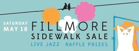 Fillmore Street Sidewalk Sales,  Raffle, & Book...