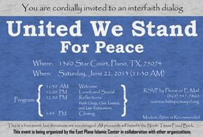 United We Stand for Peace