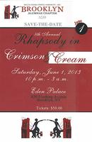"""Rhapsody in Crimson & Cream"" Annual Soiree"