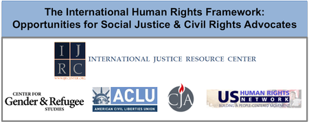 International Human Rights Framework: Opportunities for Advocates
