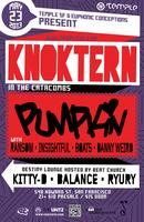 Temple SF and Euphonic Conceptions Present KNOKTERN with Pumpkin