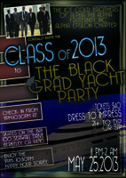 Black Grad Yacht Party