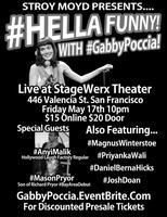 #HellaFunny with Gabbby Poccia!