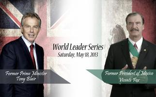 World Leader Series - Prime Minister Tony Blair and...