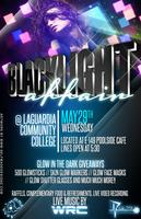 BLACKLIGHT AFFAIR @ LaGuardia Community College