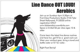 Line Dance Out Loud! Aerobics Class