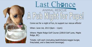 Last Chance Animal Rescue Pub Night