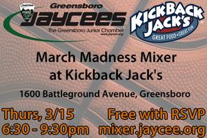 March Madness Mixer @ Kickback Jack's