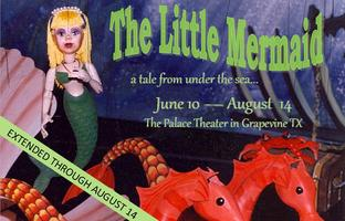 The Little Mermaid Marionette Stage Production -- 6/22/13  10:30...