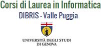 Corsi di Studio in Informatica, Università di Genova logo