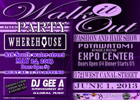 Walk it Out Fashion & Hair Show