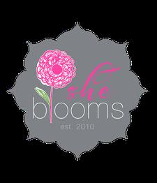 She Blooms logo