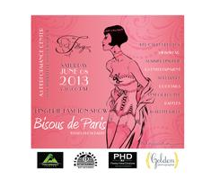"""Bisous de Paris"" Spring 2013 Lingerie Fashion Show Benefit"