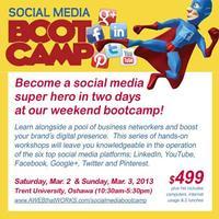 Social Media Bootcamp Weekend