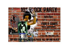 2nd Annual 101 Block Party
