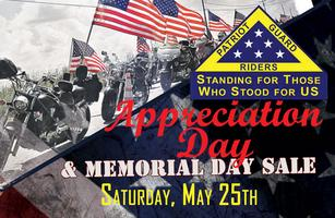 Patriot Guard Riders Appreciation Day