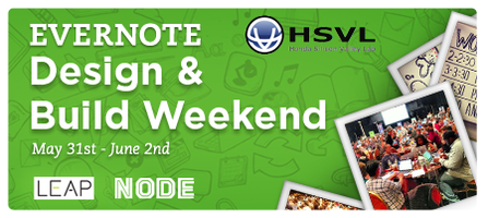 Evernote & Honda Hackathon: Design & Build Weekend