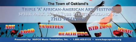 Town of Oakland's 8th Annual Triple A Multi-Cultural...