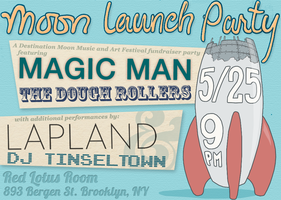 Destination Moon Launch Party!