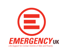 EMERGENCY UK - Life Support for Civilian Victims of War and Poverty logo