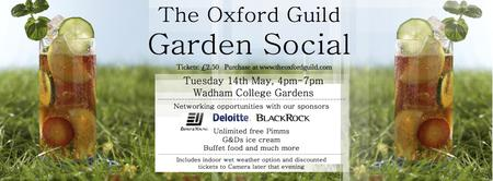 Oxford Guild Garden Social