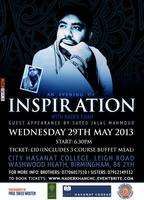 An Evening of Inspiration with Nader Khan