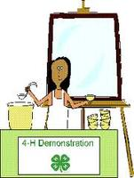 Demonstration Contests @ the Iron County 4-H Office