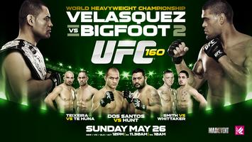 UFC 160 Velasquez vs Bigfoot II