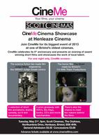 CineMe Cinema Showcase at Henleaze Cinema