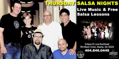 Free Salsa Lessons with Live Latin Band Thursday...