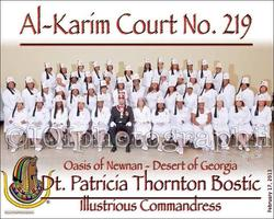 The Daughters of Al-Karim Court No. 219    2nd Annual...