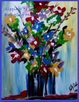 Hampden Sip N' Paint Mon Aug 19th French Bouquet 6pm...