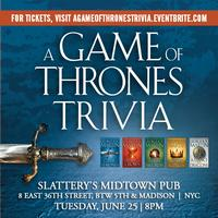 OFFICIAL A GAME OF THRONES (BOOK) TRIVIA
