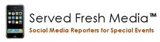 A Served Fresh Media Event logo