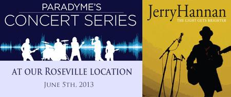 Paradyme Concert Series with Jerry Hannan