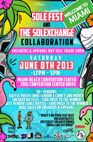 SoleFest & The SoleXChange Collaboration Miami Sneaker...