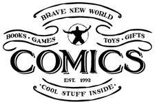 Brave New World Comics logo