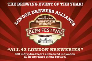 Wandsworth Common London Beer Festival - July 4th-6th, 2013