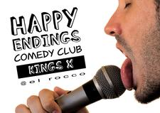 Happy Endings Comedy Club - Kings Cross logo